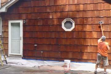 Interstate House washing