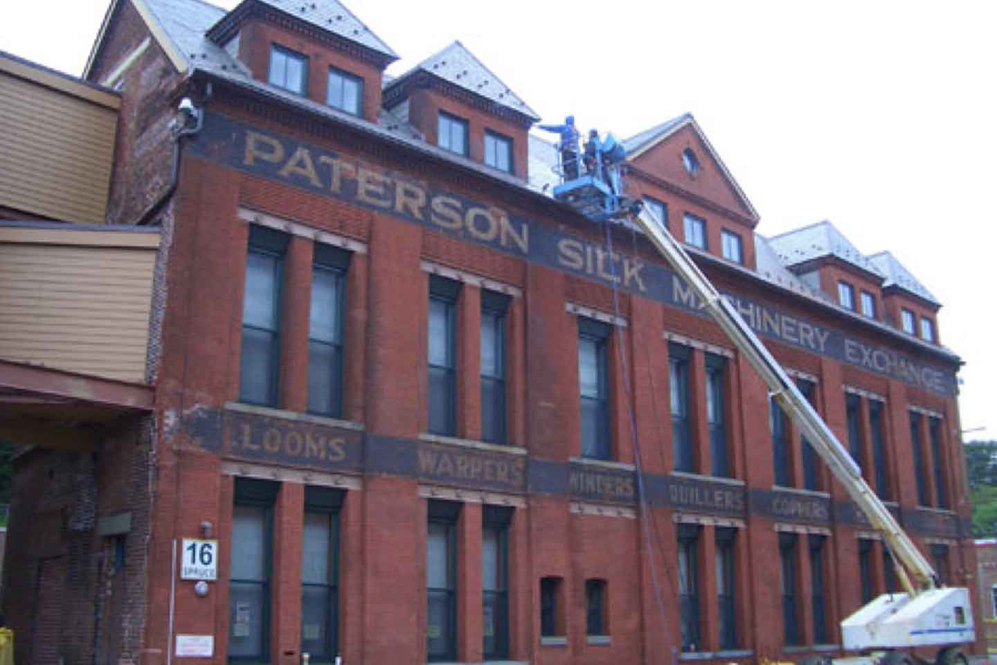 Historical Building - Masonry Cleaning